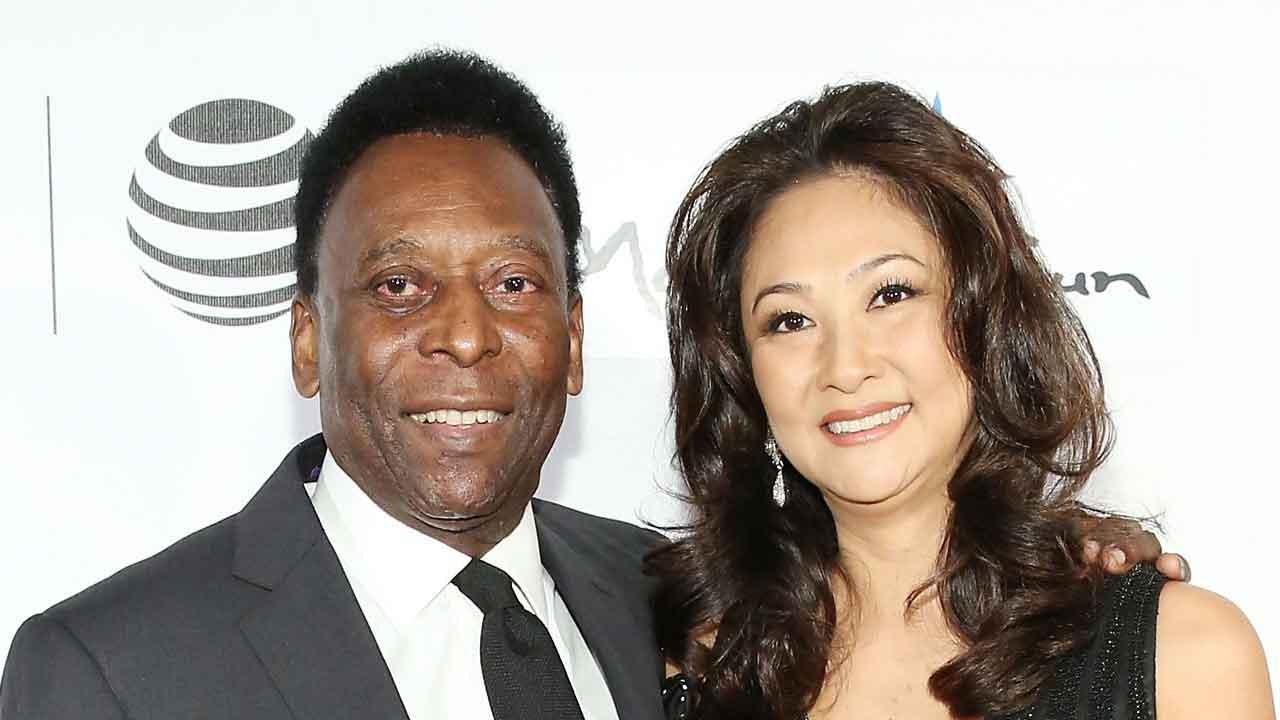 Pelè, chi è la terza moglie Marcia Cibele Aoki, il suo amore definitivo (Getty Images)