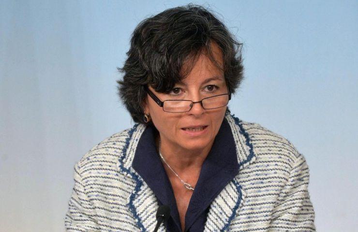 Maria Grazia Carrozza parla