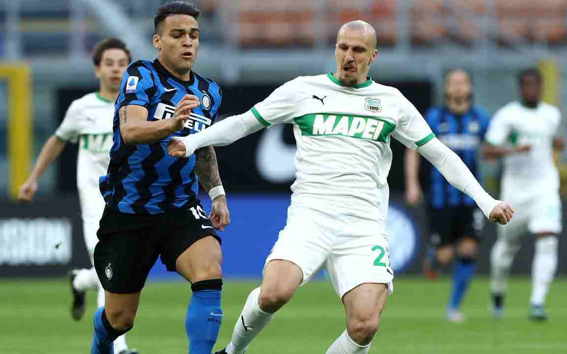 Inter Sassuolo Highlights (Getty Images)