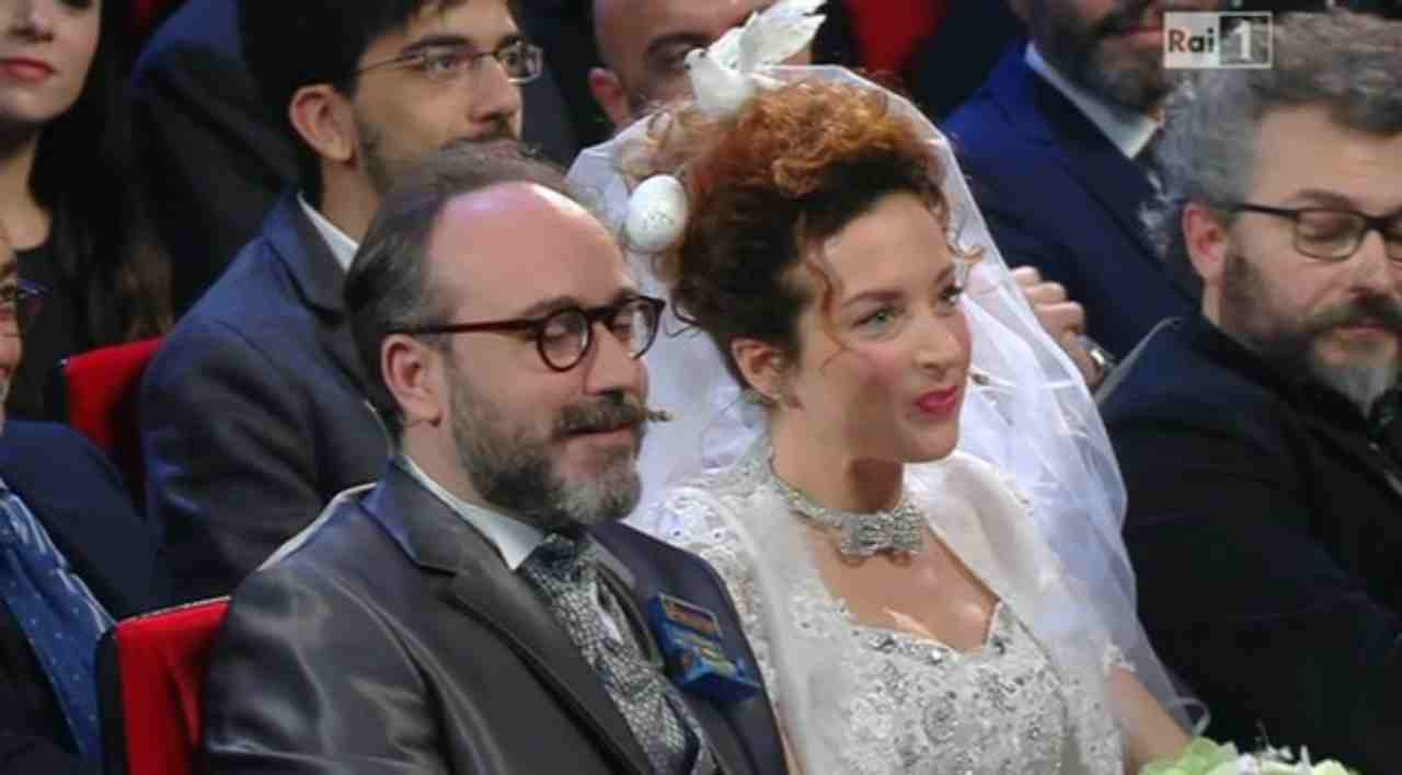 """Marta Zoboli, chi è la comica a fianco di Brigano a  """"Un'ora sola vi vorrei"""""""
