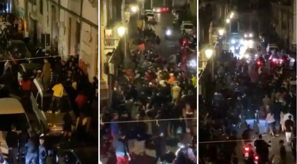 Maxi rissa sul corso a Caserta: due ragazzi finisco in ospedale