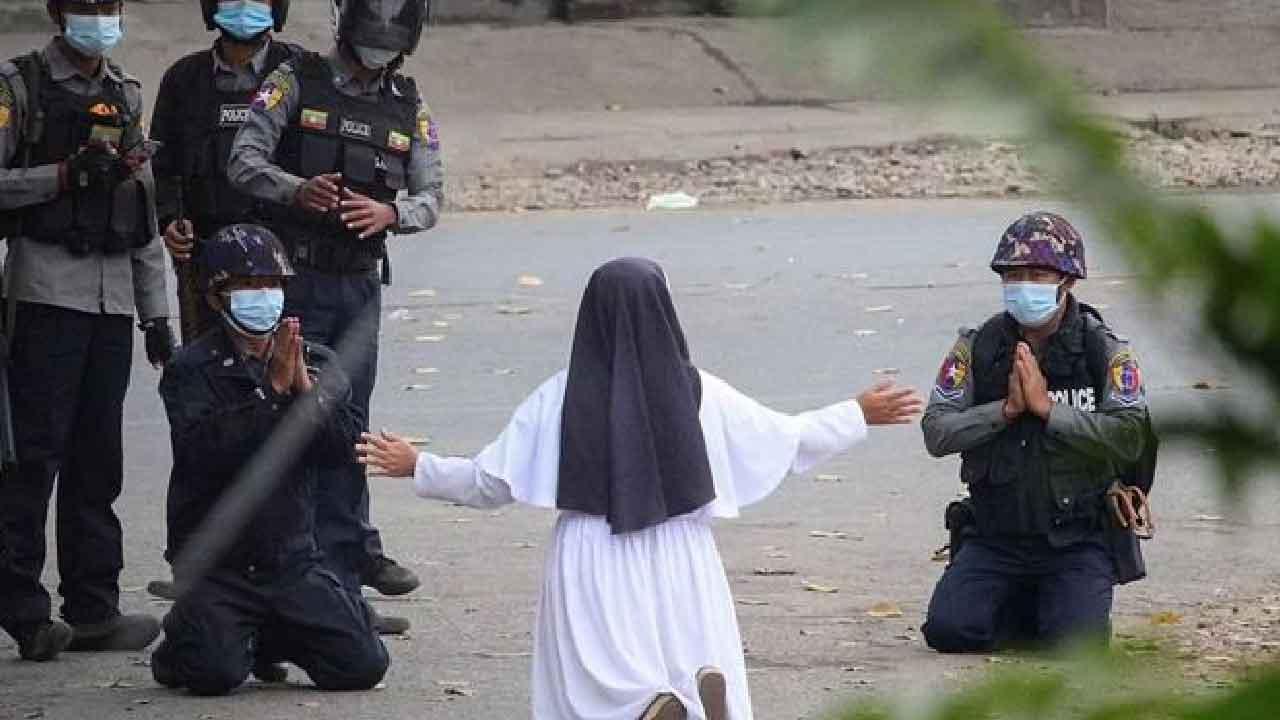 Ann Rose Nu Tawng, chi è la suora che ha sfidato i militari in Myanmar (Famiglia Cristiana)