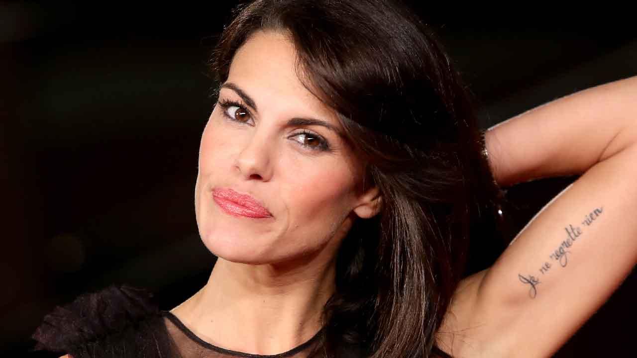 """Bianca Guaccero, vittima degli haters per via del suo fisico """"troppo magro"""" (Getty Images)"""