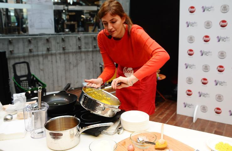 Chiara Maci in cucina