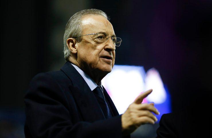 Florentino Perez Presidente Real Madrid
