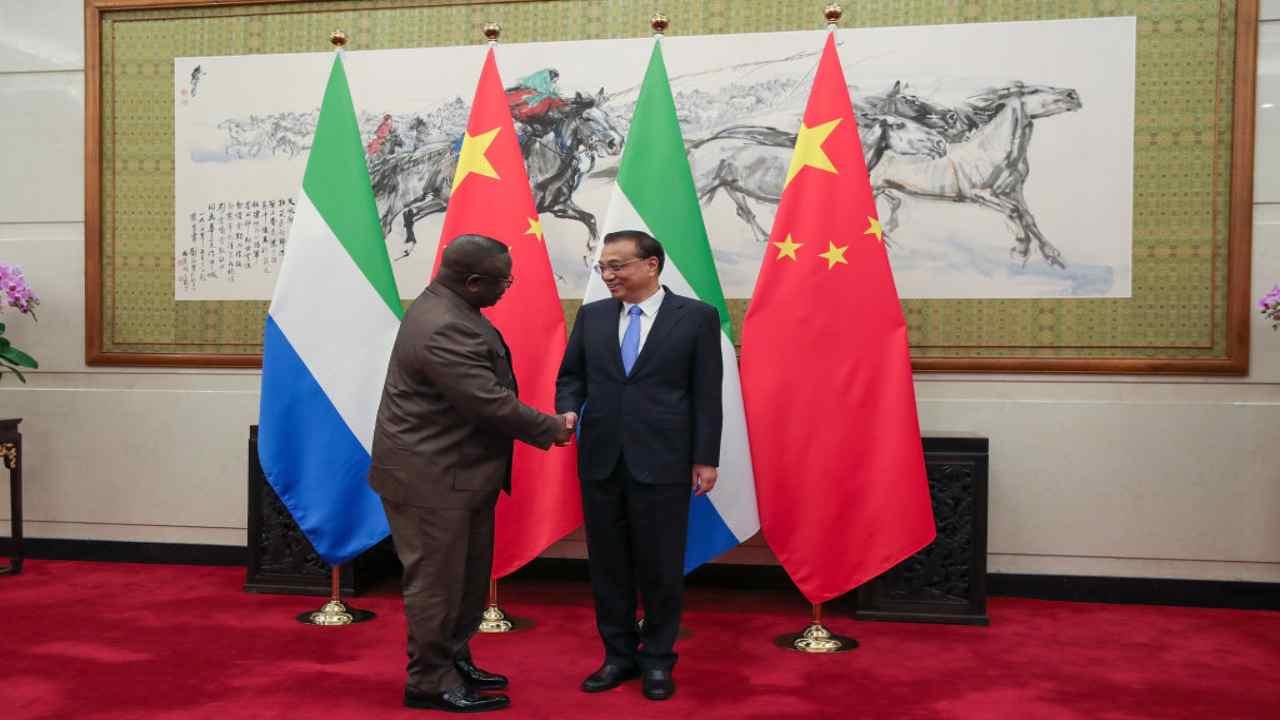 La Sierra Leone vende la foresta pluviale alla Cina