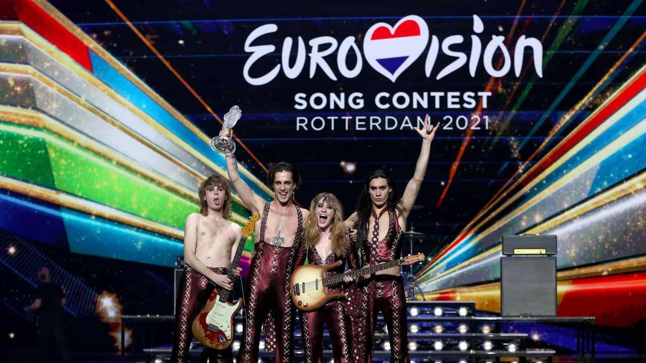 I Maneskin Eurofestival