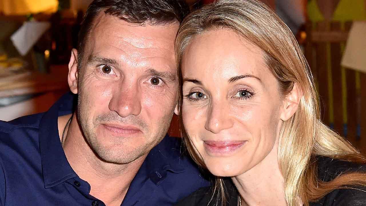 Kristen Pazik, chi è la moglie e modella del celebre ex attaccante Andriy Shevchenko (Getty Images)
