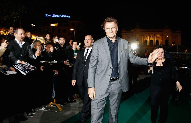 Liam Neeson acclamato