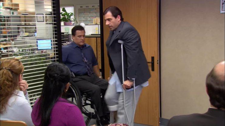 Mark-York-sulla sedia a rotelle