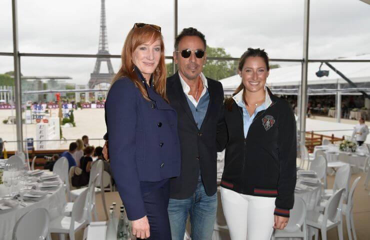 Patti Scialfa Bruce e Jessica Springsteen a Parigi