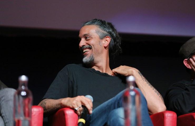 Roberto Angelini sorridente