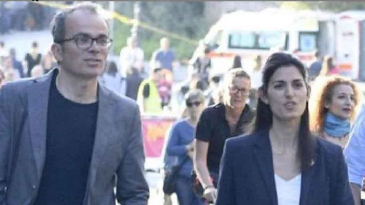Andrea Severini, chi è il marito di Virginia Raggi (Instagram)