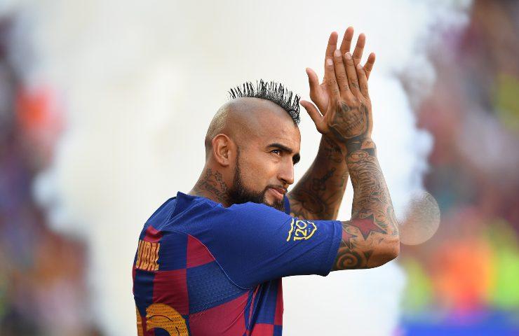 Arturo Vidal al Barcellona