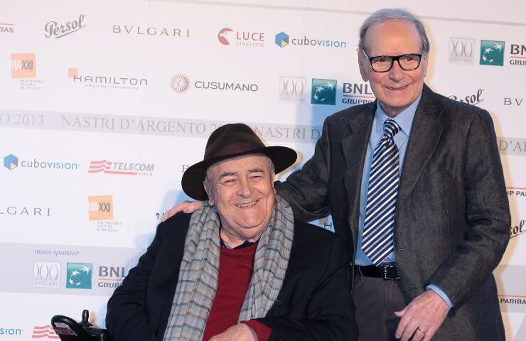 Ennio Morricone e Bernardo Bertolucci