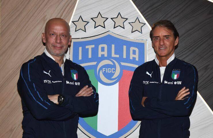 Gianluca Vialli e Roberto Mancini (