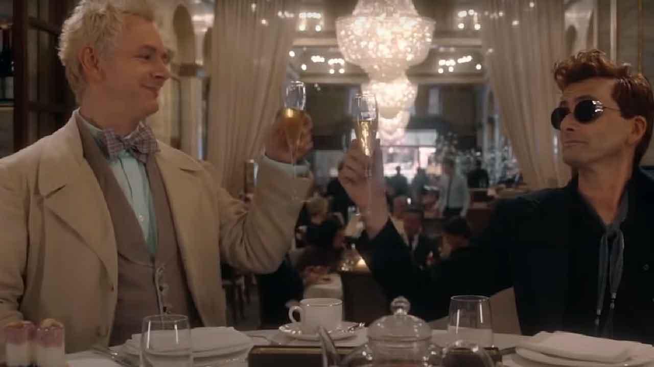 Amazon Video, annunciata la seconda stagione di Good Omens 2 (Screenshot)