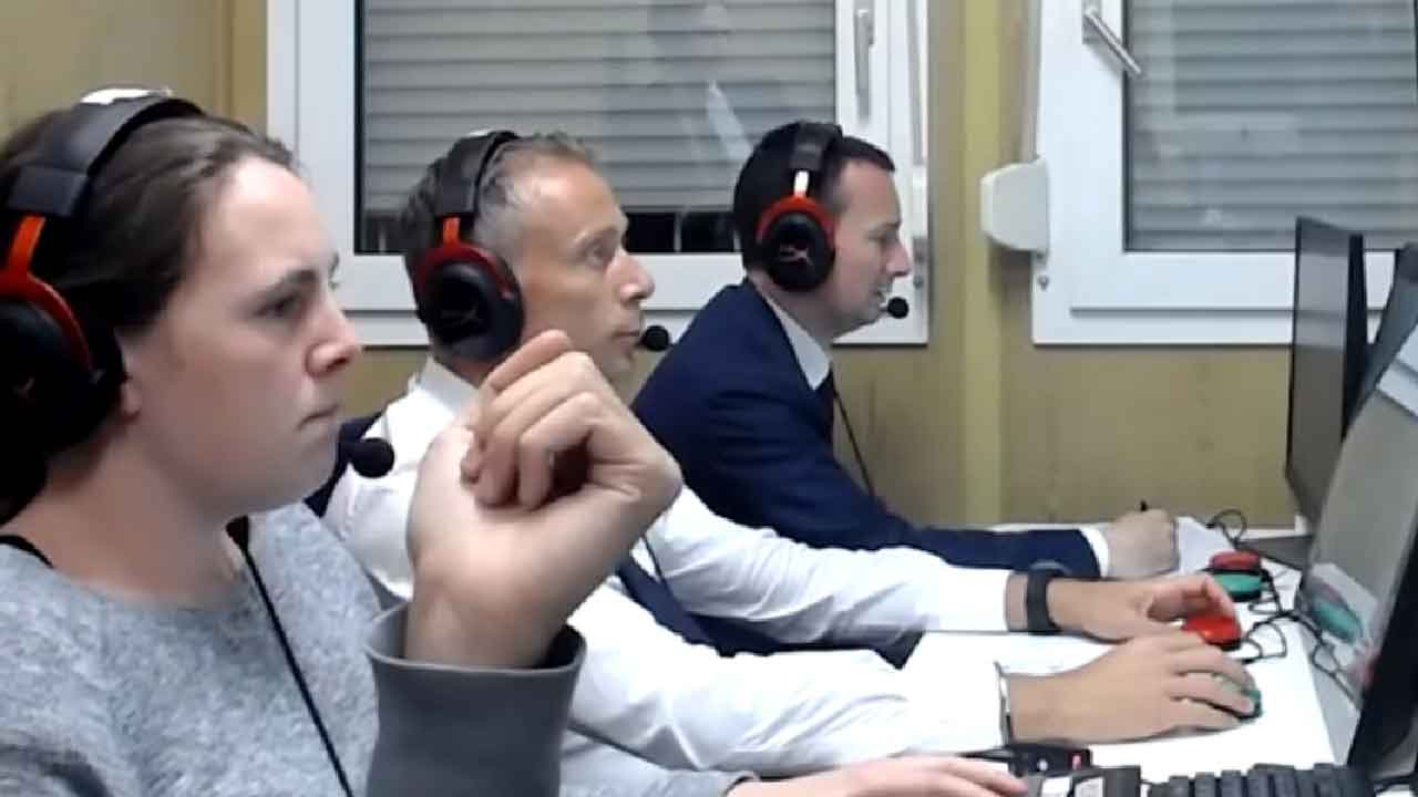 Inter - Juventus, scompaiono il video e l'audio con il VAR (Screenshot)