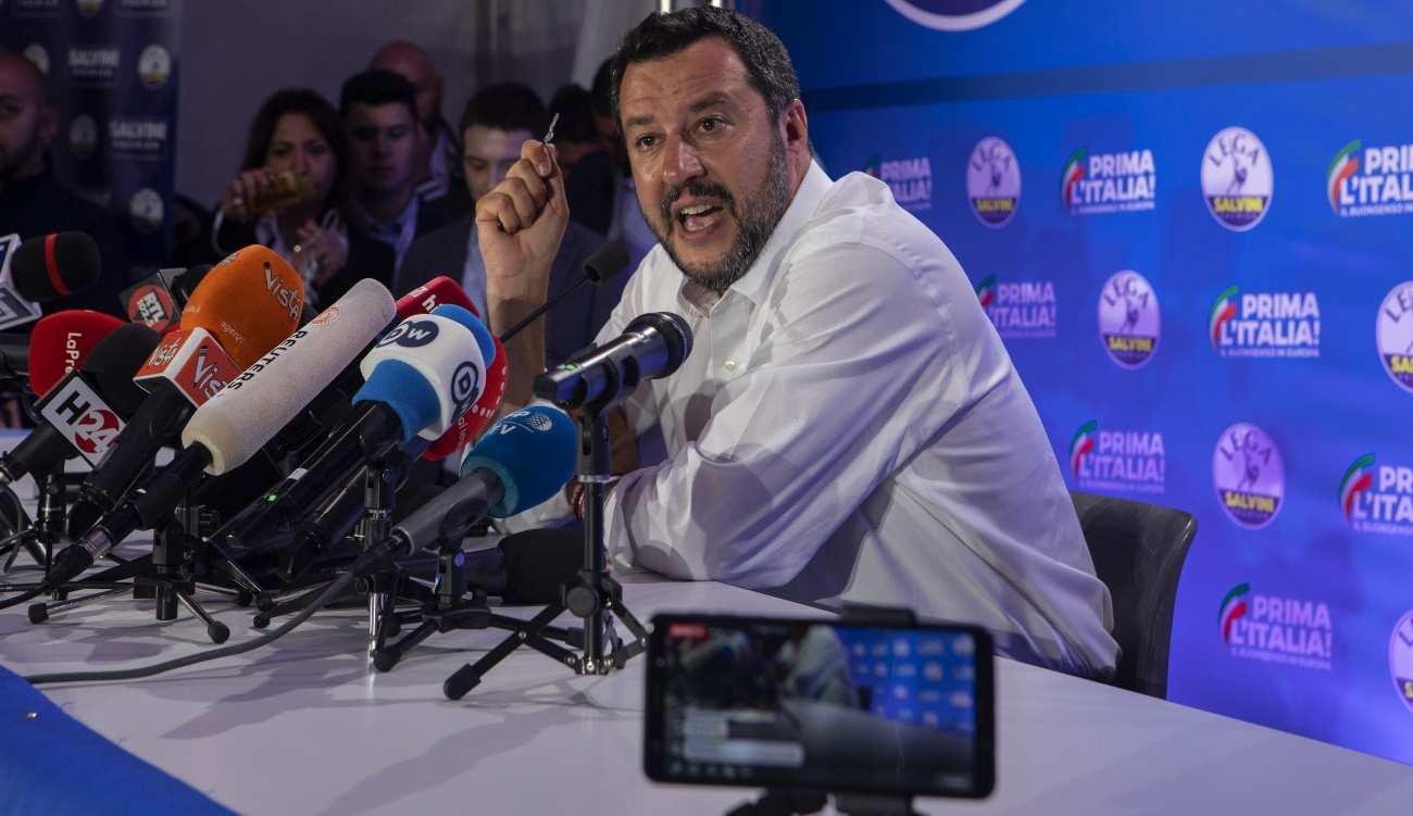 Sondaggi Politici calo Salvini