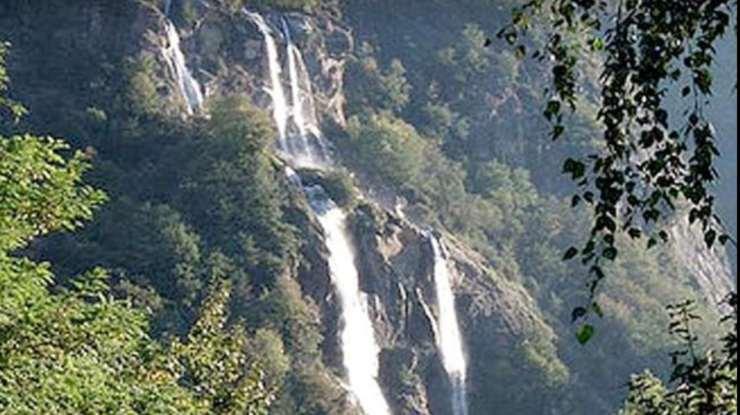 Screenshot Cascate Acquafraggia