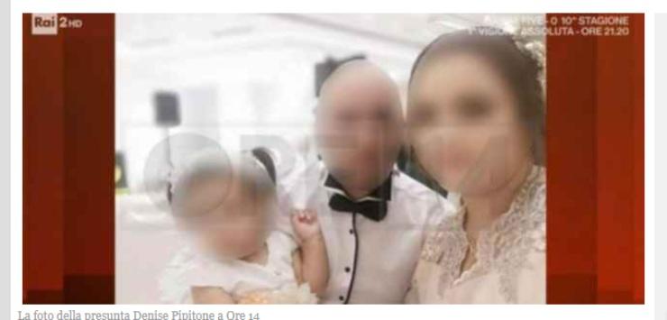 Screenshot Presunta famiglia di Denise Pipitone