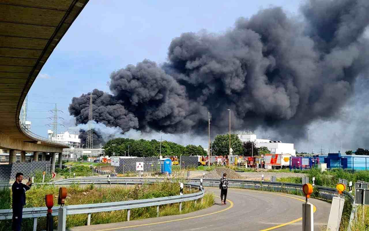 Esplosione in Germania