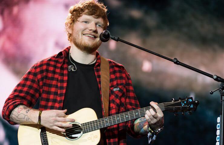 GettyImages Ed Sheeran