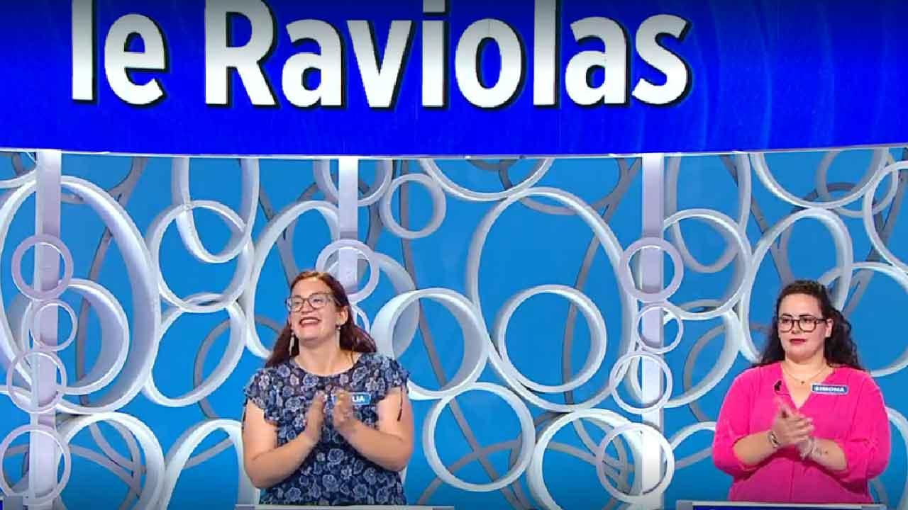 Reazione a Catena, le Raviolas sono state eliminate dai Belli di Zia (Screenshot)