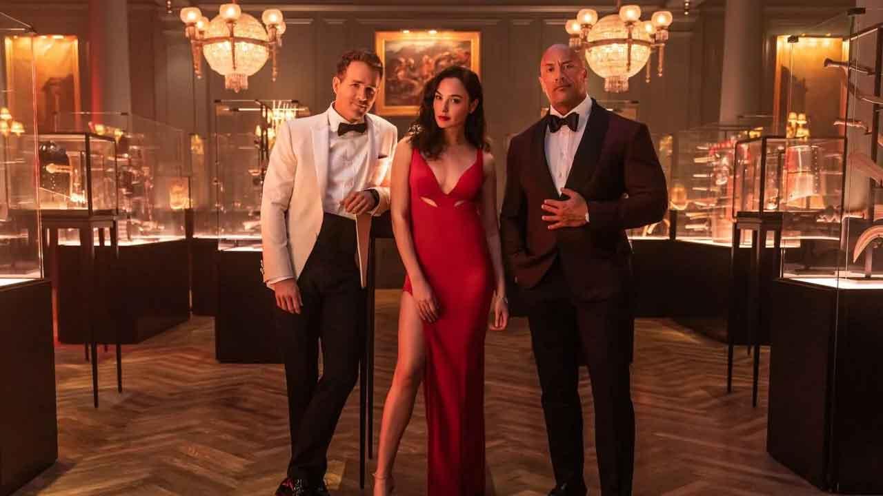 Netflix, annunciata la data d'uscita del film con The Rock, Ryan Reynolds e Gal Gadot (Instagram)