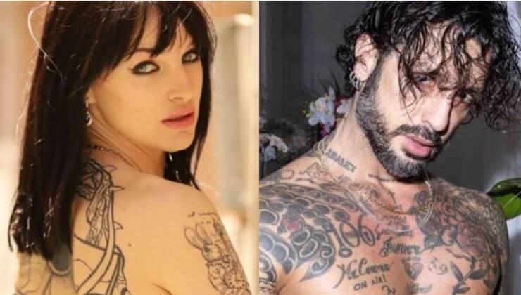 Screenshot Jessica Antonini e Fabrizio Corona