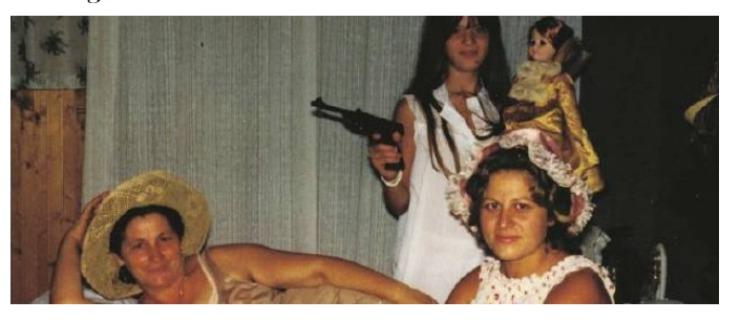 Screenshot Maria Serraino mamma eroina