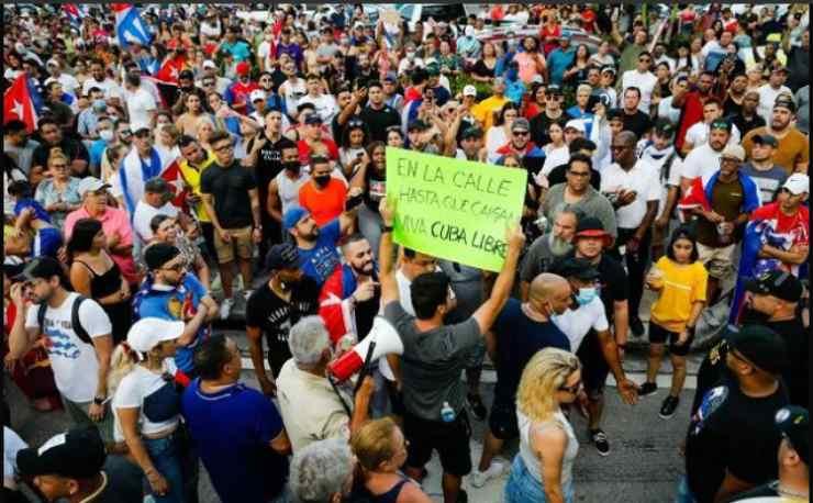 Screenshot Protesta Cuba