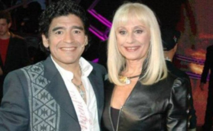 Screenshot Raffaella Carrà e Diego Armando Maradona