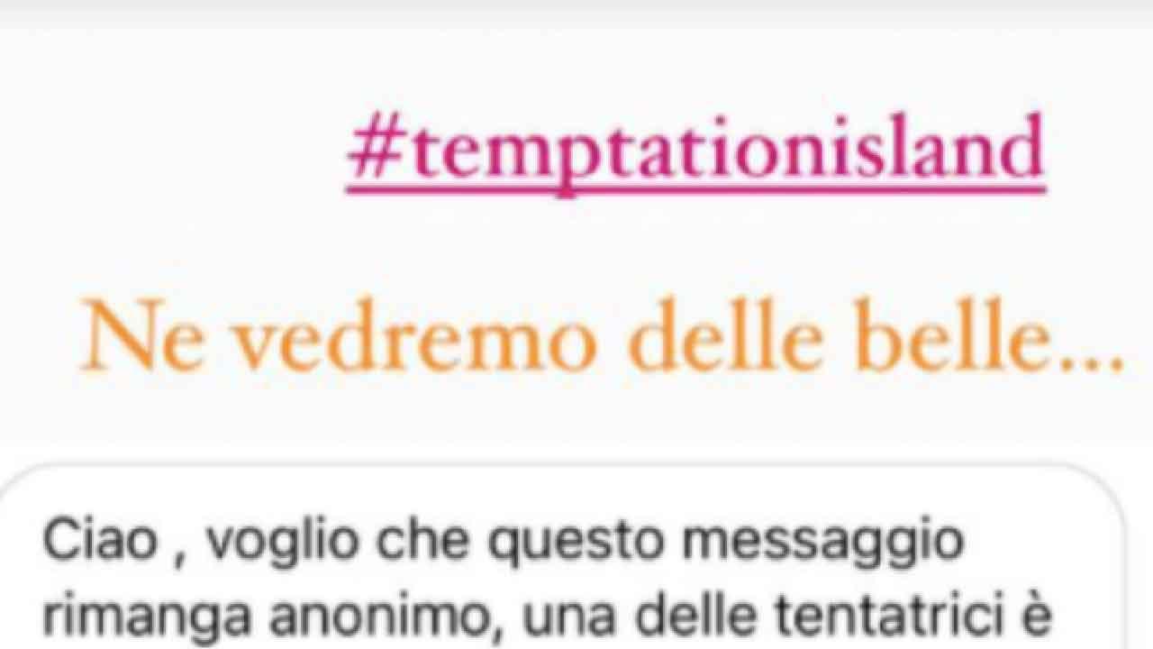 Temptation Island, una delle tentatrici potrebbe essere fidanzata, scoppia il caso sul web (Instagram)