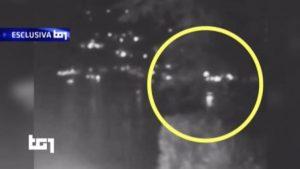 incidente sul garda, il video dello scontro