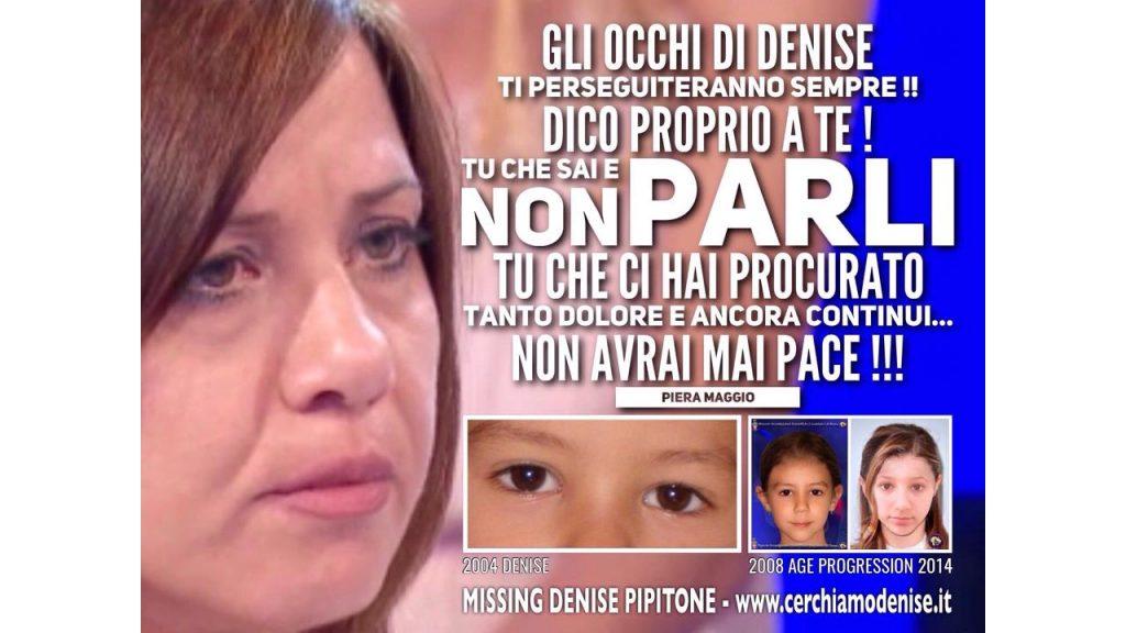 """Piera Maggio si sfoga sui social: """"A te che sai e non parli"""""""