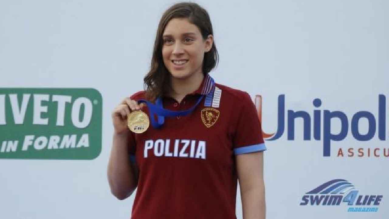 Carlotta Gilli, chi è la nuotatrice che convive con una difficile malattia (Foto dal web)