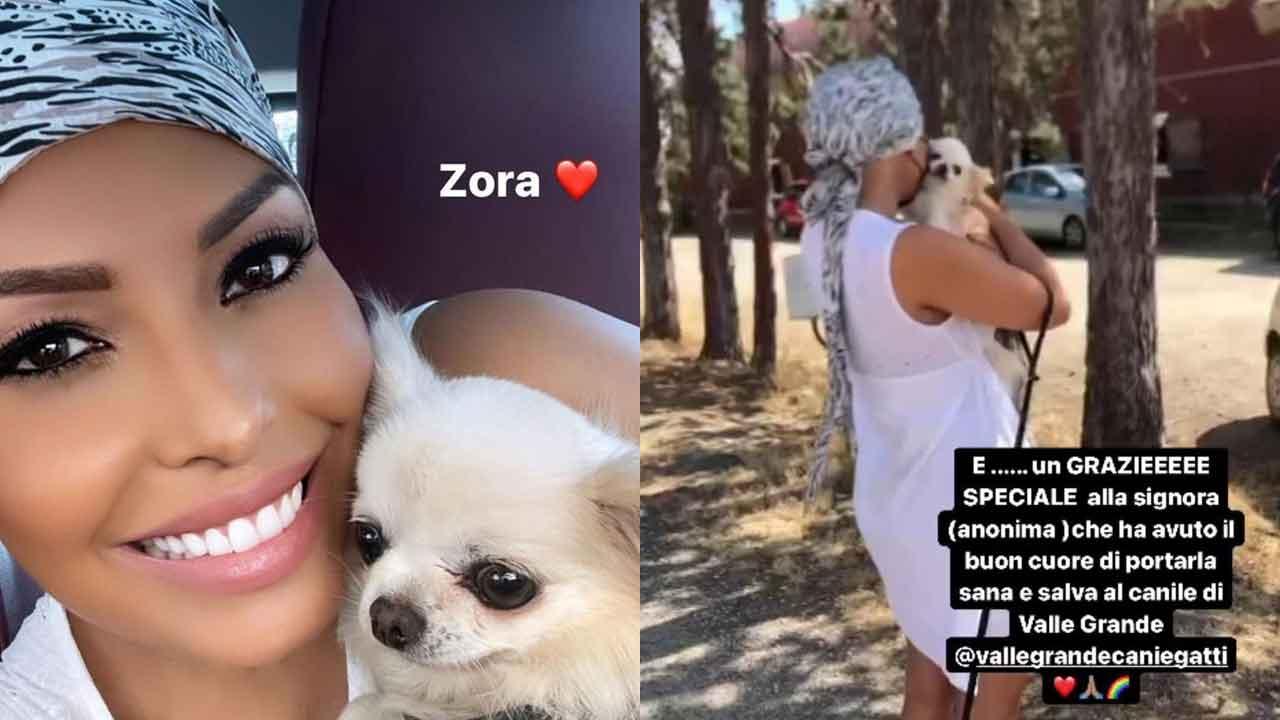 Carolina Marconi, il tenero abbracci con la sua Zora dopo 24 ore d'inferno (Instagram)