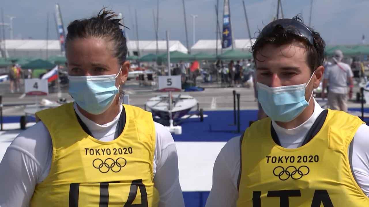 Olimpiadi, la coppia Banti-Tita conquista l'argento e promette bene per l'oro (Screenshot)