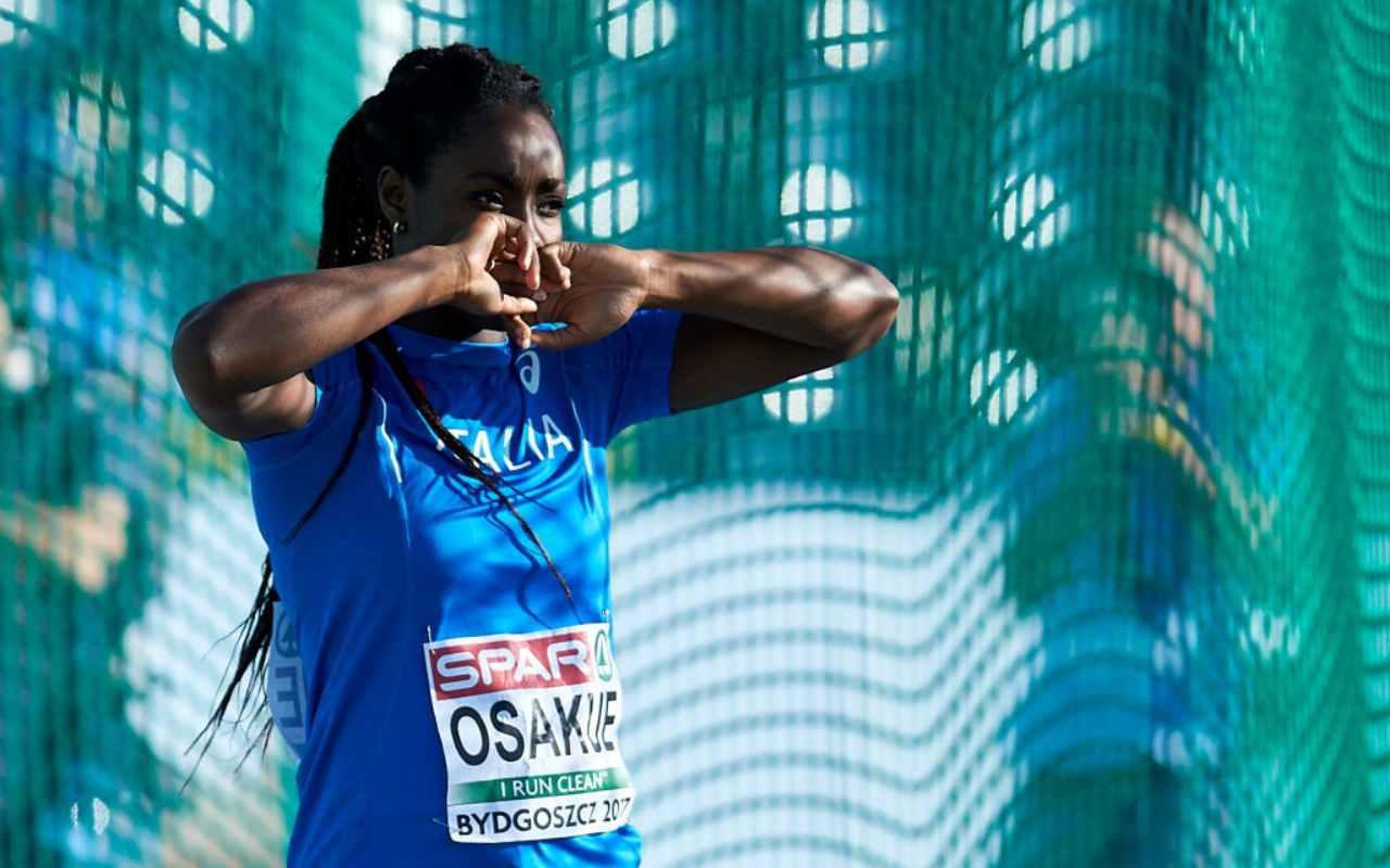 Daisy Osakue, la drammatica aggressione della campionessa azzurra
