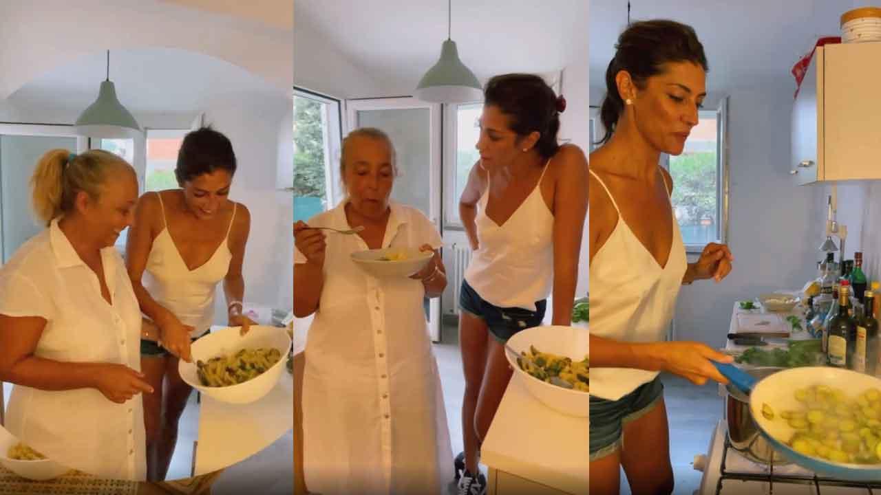 Elisa Isoardi, adesso è disoccupata sui social di diletta nell'essere una food influencer (Instagram)