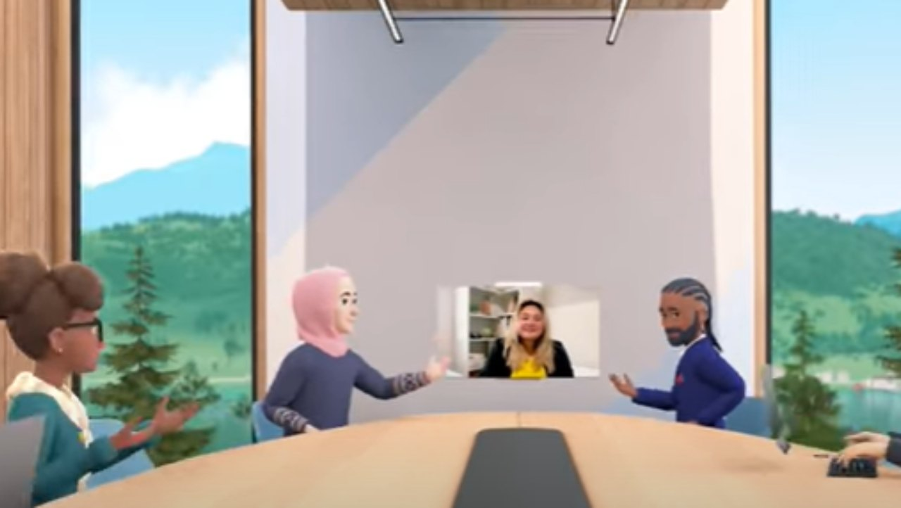 Facebook app Horizon Workrooms