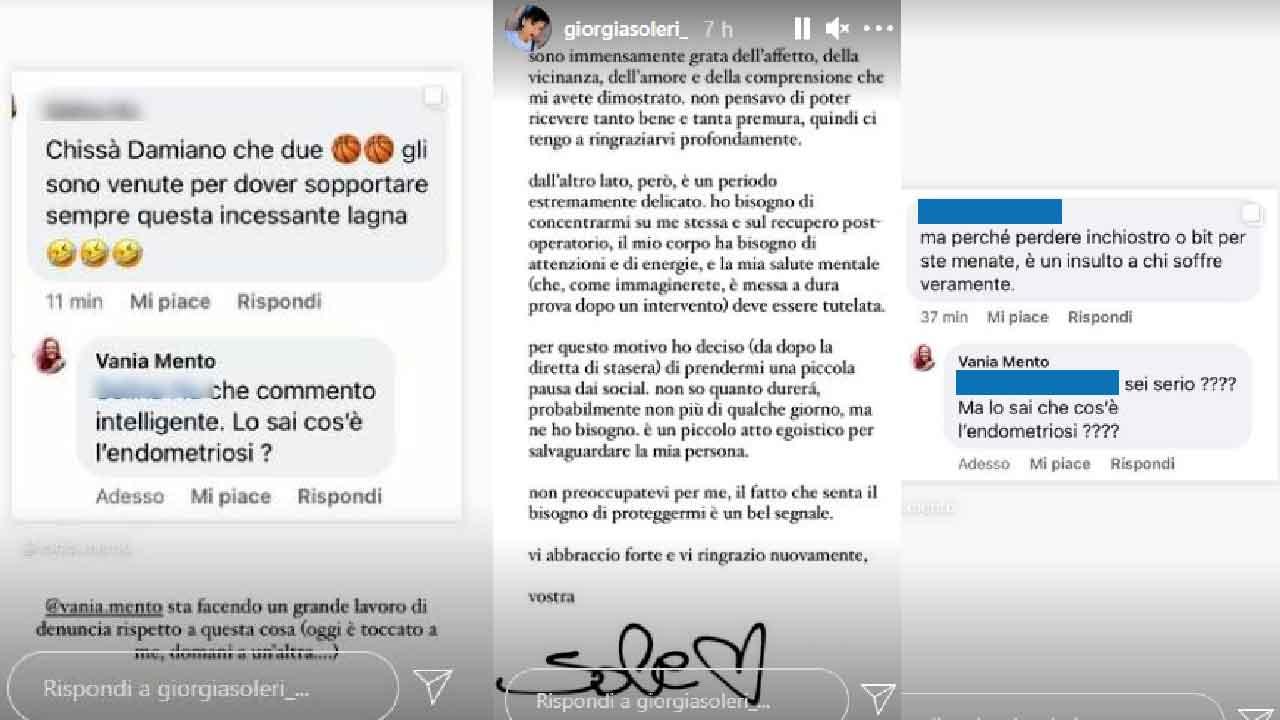 Giorgia Soleri, i commenti degli haters sono stati neutralizzati dai followers (Instagram)
