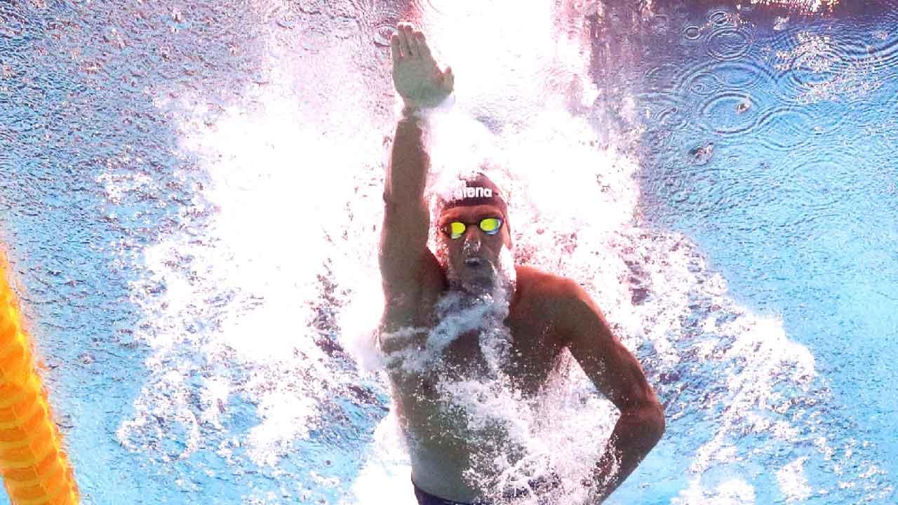 Paltrinieri, conquista il bronzo nella gara 10km (Getty Images)