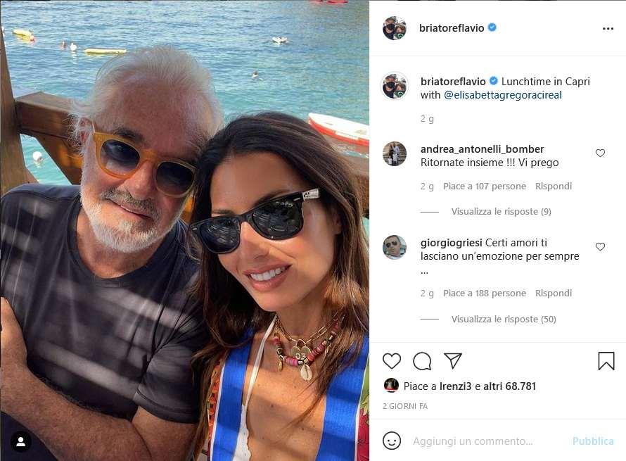 Instagram Flavio Briatore