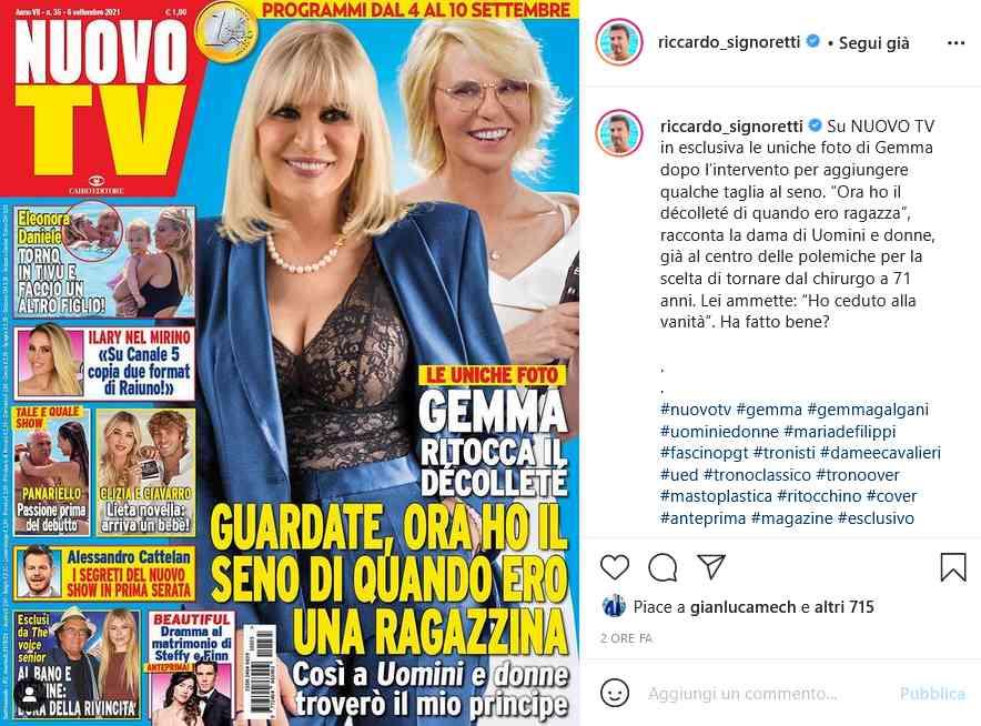 Instagram Nuovo TV