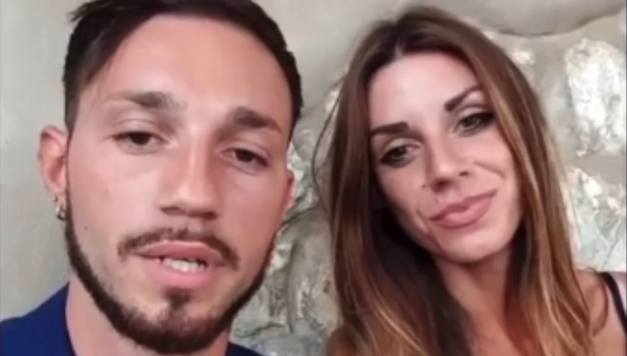 Jessica Mascheroni e Alessandro Autera