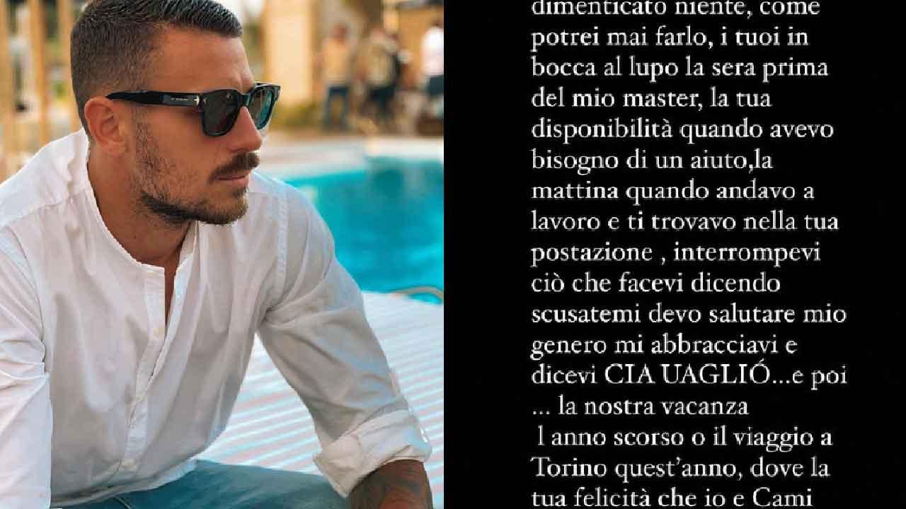Mattia Marciano, grave lutto per l'ex tronista di Uomini e Donne (Instagram)