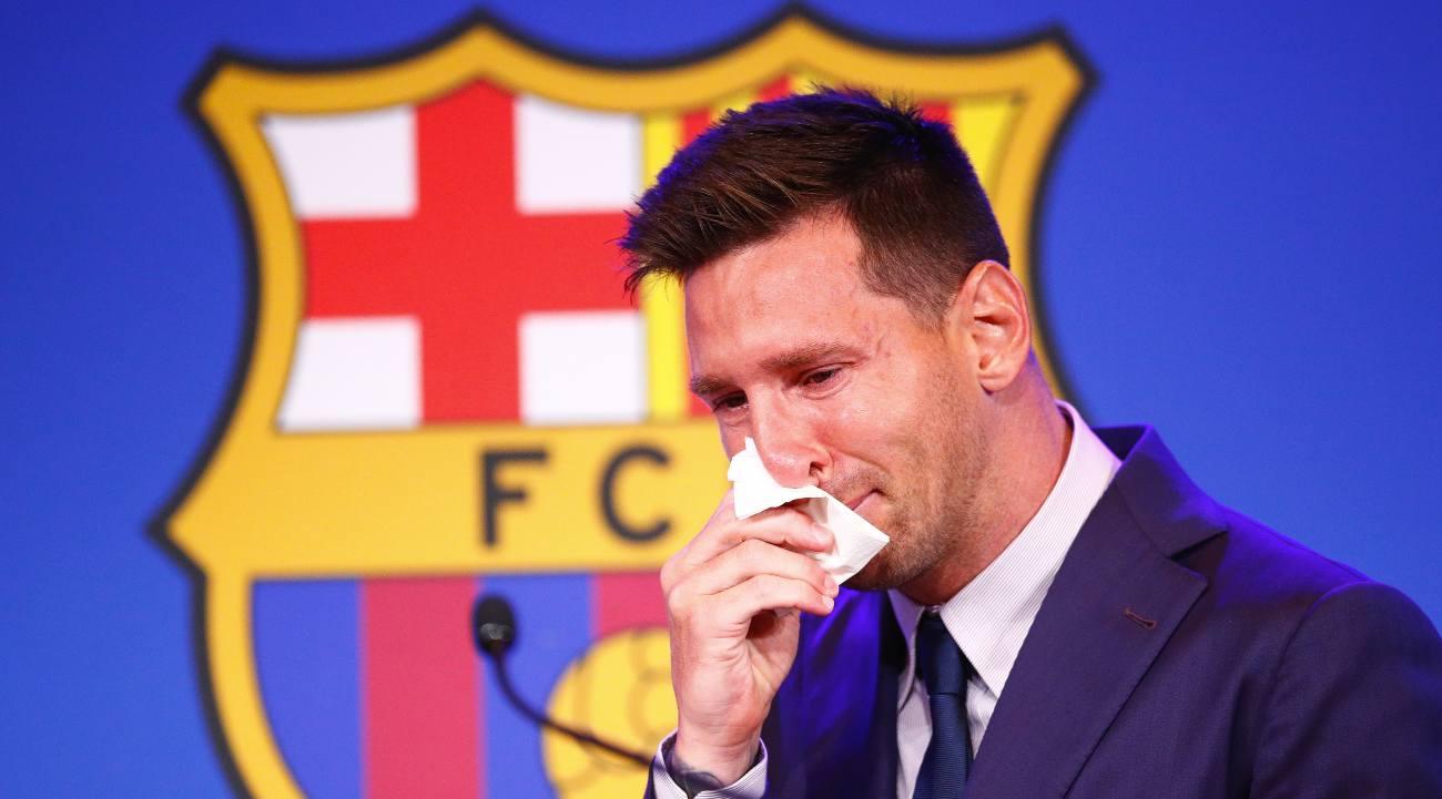 Motivo Addio Messi Barcellona