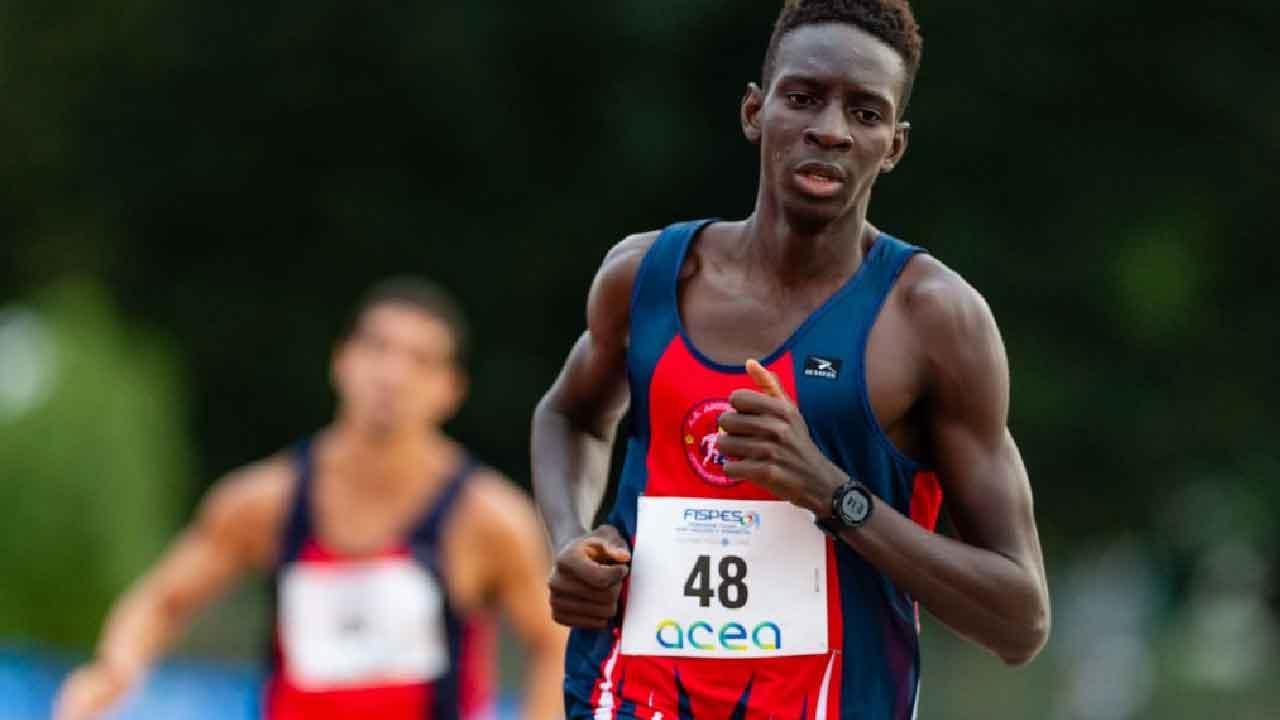 Ndiaga Dieng, chi è l'atleta paralimpico terzo nel ranking 1500m (Foto dal web)